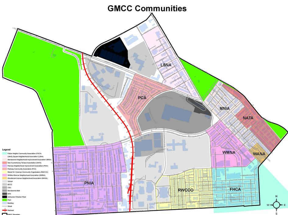 GMCC Communities Map