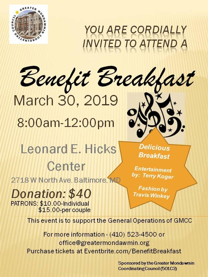 GMCC Benefit Breakfast 3.30.19